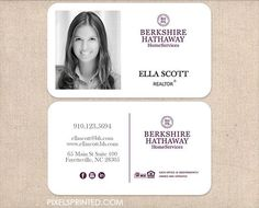 realtor business cards thick color both sides by PixelsPrinted