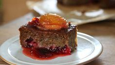 Plum pudding cake, Nigel Slater