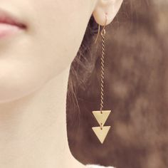 Arrow Earrings  by (of)matter