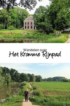 The Kromme Rijnpad is a 29 kilometer long walking route between Utrecht and Wijk bij Duurstede. Holland, Hiking Europe, Walking Routes, Weekender, Top Of The World, Utrecht, Culture Travel, Outdoor Life, Staycation