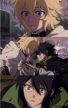 Owari no seraph | Mika | Yuu | Finally meet | OMFG | episode 10 | Anime