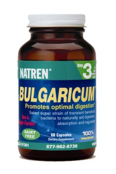 Natren Bulgaricum - Natren's Lactobacillus bulgaricus super strain is a transient bacteria that travels through th Lactose Free, Dairy Free, Garden Bulbs, How To Increase Energy, Wellness, Diet, Health, Health Care, Salud