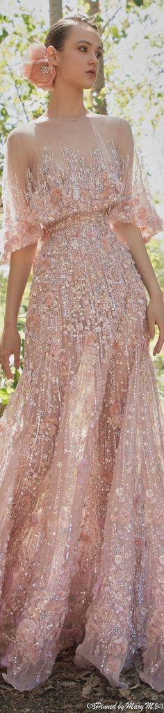 Elie Saab Couture, Dress Vestidos, Maxi Dresses, Elie Saab Fall, Fantasy Gowns, Pink Fashion, Women's Fashion, Fashion 2020, Asian Fashion