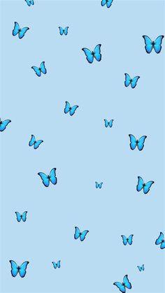 Blue Butterflies Wallpapers - Wallpaper Cave