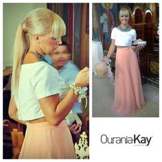 Ourania Kay look.....Absolutely perfect!