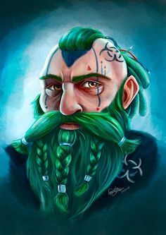 Shadowrun Cyberpunk Dwarf by Idunaya on DeviantArt Character Portraits, Character Art, Character Design, Dnd Comics, Cyberpunk Games, Shadowrun Rpg, Ghost In The Shell, Dnd Characters, Sci Fi Art