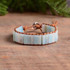 The Amber Bond Bracelet Raw Stone Bracelet Be Brave Bracelets Diy, Bracelets Wrap En Cuir, Healing Bracelets, Crystal Bracelets, Diamond Bracelets, Crystal Jewelry, Gold Jewelry, Jewelry Box, Fine Jewelry
