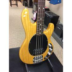 e009785bae57c6 Ernie Ball Music Man Classic 4-String Stingray Bass Guitar - Classic  Natural Finish  bassguitar  classicguitar