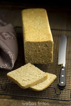 Pan de molde integral (webos fritos)