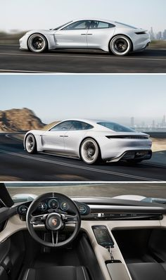 Porsche and Audi take on Tesla with two gorgeous electric car visions