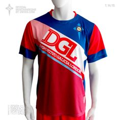 Official t-shirt goalkeeper DEPORTIVO GALICIA LONDON, season 2014 / 15. Sportswear, London, Tops, Design, Fashion, Fo Porter, Sporty, T Shirts, Moda