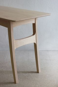 Curve Table by Kittipoom Songsiri, via Behance