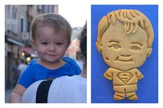 Dying over these adorable, custom cookies that look just like you!