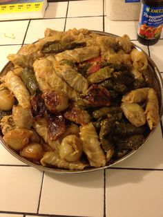 Iraqi Dolma: one of the yummiest things on earth :) preparation time consuming but worth it!!