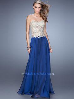 2015 A-line Sweetheart Long Prom Dress /Formal Dress/ Evening dress La Femme 20969