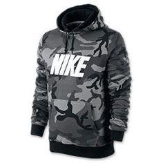 Men's Nike Woodland Camo Hoodie