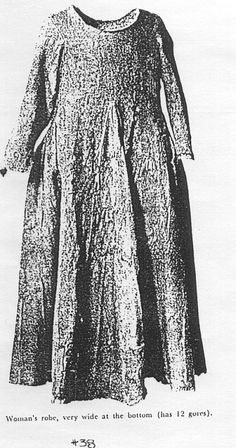 Extant gown. Norlund. The Clothing Finds In 1924 Poul Norlund published a book about the discoveries he had made in Greenland. He found a graveyard of people buried around 1350