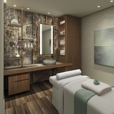 5 Reasons Why Studio Munge Interior Design Projects Are So Inspiring design estheticians spas 5 Reasons Why Studio Munge Interior Design Projects Are So Inspiring Spa Design, Spa Interior Design, Design Studio, Salon Design, Massage Room Decor, Spa Room Decor, Home Spa Decor, Home Spa Room, Spa Rooms