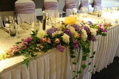 A traditional Top Table design