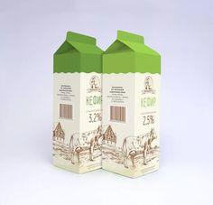 Milk Packaging, Packaging Design, Pop Design, Coconut, Packing, Branding, Graphic Designers, Bottle, Creative