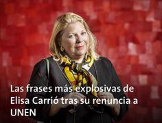 Yo no quiero 10 años mas de peronismo @elisacarrio tiene razón: