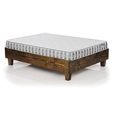 Rustic Reclaimed Wood Style Platform Bed Frame *** Find out more about the great product at the image link. (Amazon affiliate link)