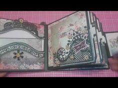Mini Album #13 - Album using Prima Marketing Tales of You & Me paper pack - YouTube