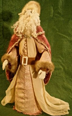 Pere Noel A Victorian Santa by IncipientMadness on Etsy #IncipientMadness #AmyFelske $200USD