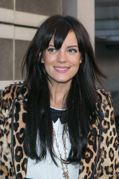 Blue: The Big Makeup Trend for Spring, Per Lily Allen