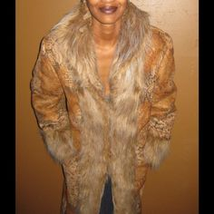 Winter Ultra-Suede Coat Full length, suede-like coat w/complete faux fur lining.  Warm, cozy and comfortable. Newport News Jackets & Coats