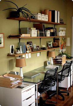 oficina ideas y trucos para decorar la casa : Consejos para Crear Oficinas en Espacios Pequeños