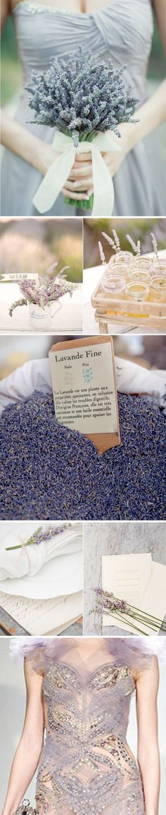 Ahh yes! I was totally thinking if doing a lavender wedding bouquet & decorations!