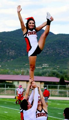 Give me an M. Give me an S. Give me a U. What do you have? The new home of Taos senior Alyssa Jeantete! Jeantete recently tried out for New Mexico State's co-ed cheerleading team and earned a spot on the squad. She'll begin cheering for the Aggies in the fall. Photo courtesy Maria Jeantete