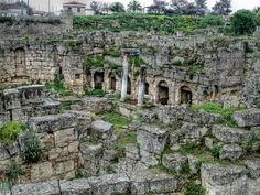 Ancient Ruins HDR- Corinth, Greece by dawsonpowers, via Flickr