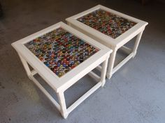 Cool bottle caps tables