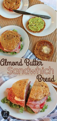 This keto-friendly sandwich bread is only from two ingredients. This microwave almond butter bread is so easy to make and tastes just like bread! No Bread Diet, Best Keto Bread, Low Carb Bread, Paleo Bread, Pita Bread, Coconut Flour Bread, Almond Flour Recipes, Sugar Bread, Almond Butter Keto