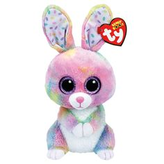 Bubby the Easter Bunny Rabbit - - Ty Beanie Boo Buddy – Plush Friends All Beanie Boos, Beanie Babies, Ty Beanie Boos Collection, Ty Peluche, Ty Boos, Boo And Buddy, Baby Girl Toys, Baby Kids, Cute Beanies