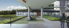 Galeria - Proposta finalista do concurso para a Moradia Estudantil da Unifesp Osasco / Albuquerque + Schatzmann arquitetos + Diego Tamanini + Felipe Finger - 7