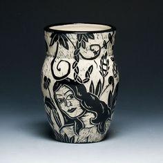 Kathy King | Carved porcelain