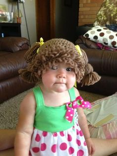Every baby should have a cabbage patch doll beennie!