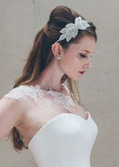 Romantic And Timeless Bridal Headpieces Ideas