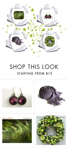 """""""Gift set 2"""" by keepsakedesignbycmm ❤ liked on Polyvore featuring art, accessories and homedecor"""