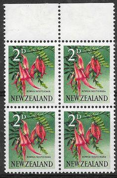 [2340]New Zealand Error 1960 2d Pictorial