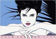 Patrick Nagel - Palm Springs Life Serigraph  Limited-edition poster