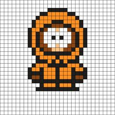Kenny South Park Perler Bead Pattern