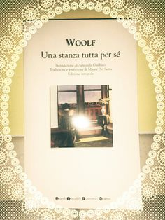 """Virginia Woolf """" Una stanza tutta per sé """""""