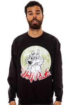 Wolf Pack Crewneck Black by BOOGER KIDS