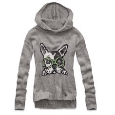 36 Best Sweaters Tops With Dogs On Them Images Abercrombie Kids