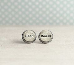30 Pairs of Excellent Bookish Earrings