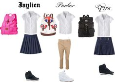 """""""School Uniform"""" by forever-young-iii ❤ liked on Polyvore"""